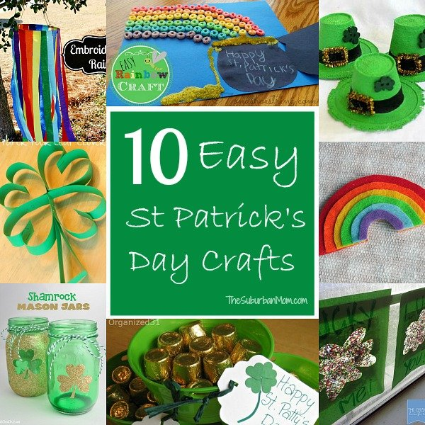 St Patricks Day Kids Crafts