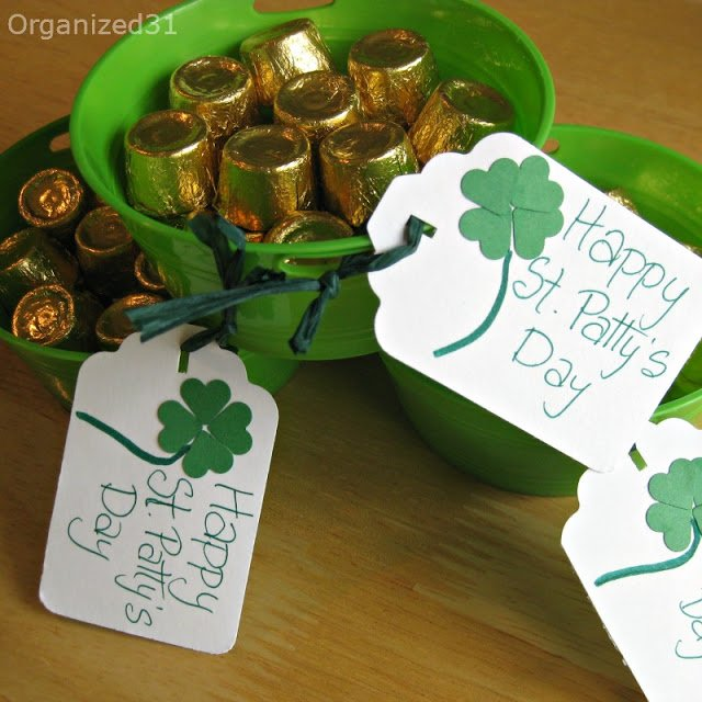 Pot of Gold Treat Bucket