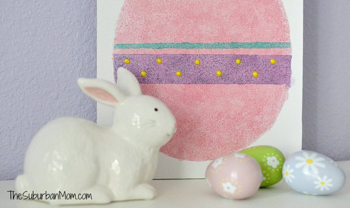 Easter Egg Canvas