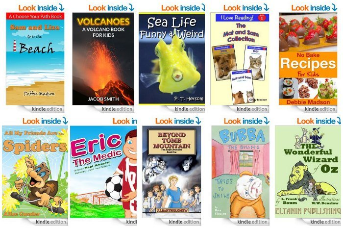 Free Kids Kindle Books April 23