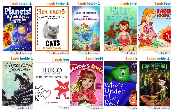 Free Kids Kindle Books April 24