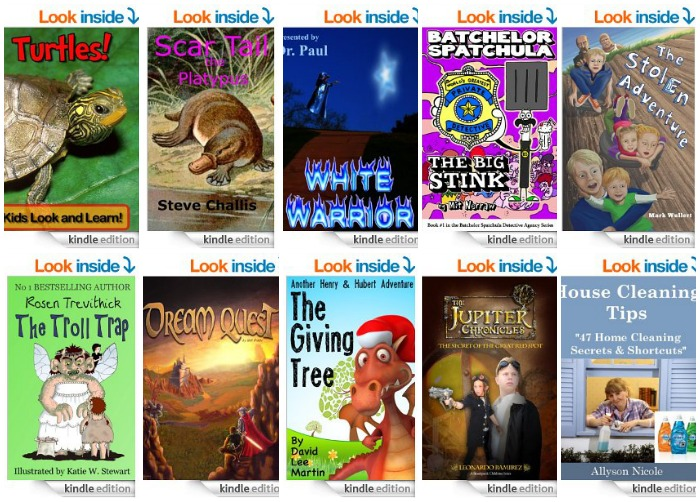 Free Kids Kindle eBooks 4-3-14