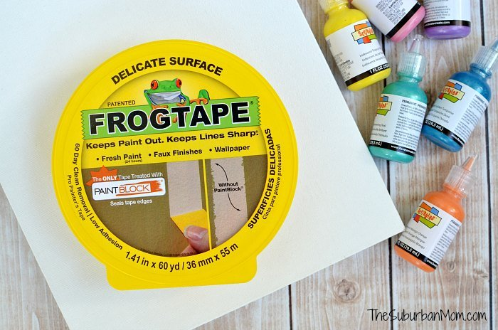 Frog Tape Craft Project