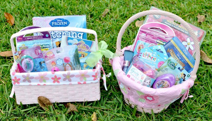 Whats in my girls easter baskets last minute ideas frozen non candy girls easter basket ideas negle Image collections