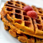 Chocolate Chip Pumpkin Waffles