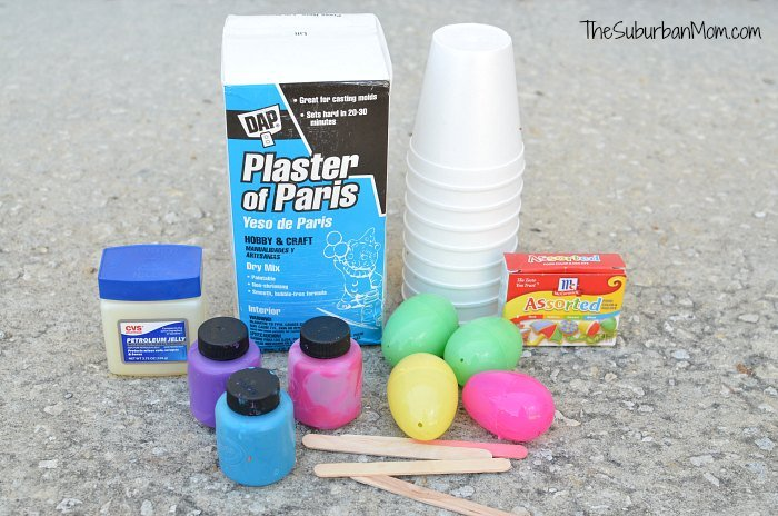 Sidewalk Chalk Easter Eggs