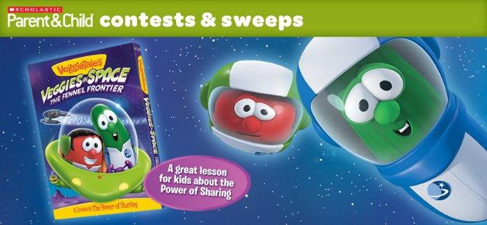 VeggieTales Build Your Child's Libary Sweepstakes