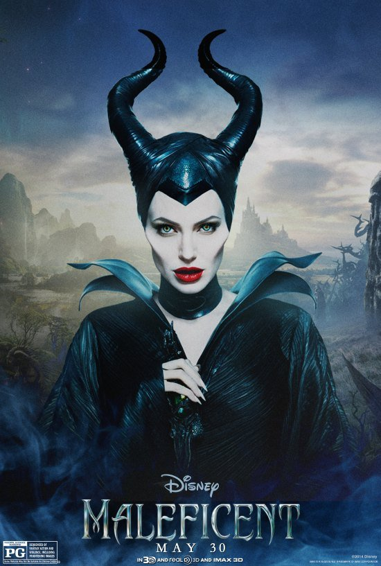 Maleficent Disney Movie Poster