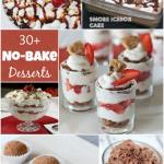 30+ No-Bake Desserts