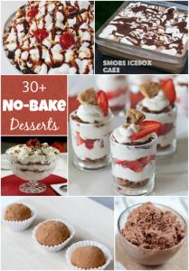 30 No Bake Desserts