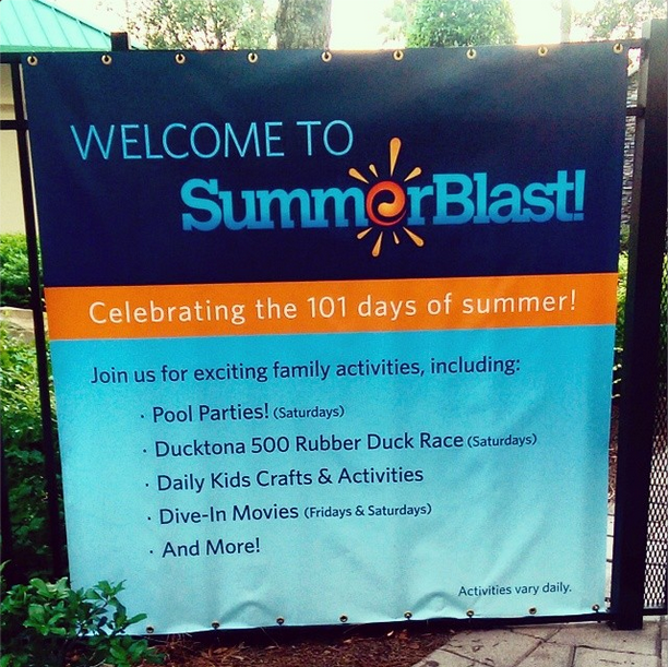 Bonnet Creek Resort SummerBlast