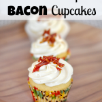 Candied Maple Bacon Cupcakes