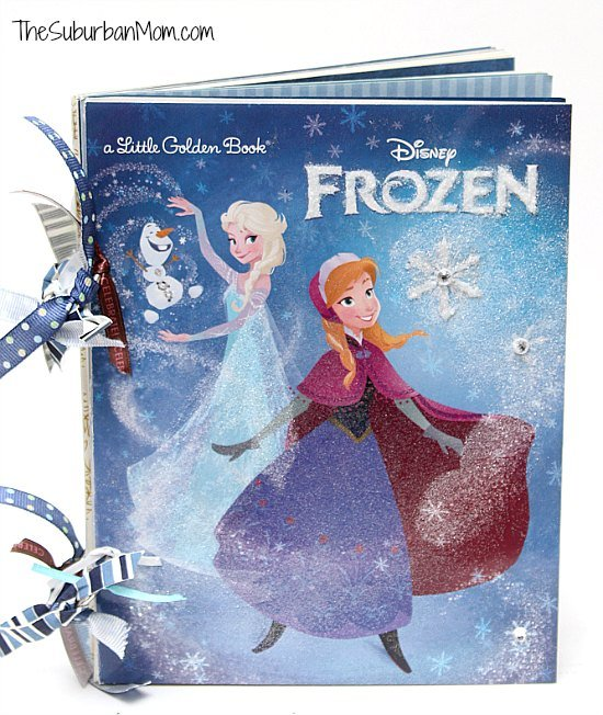 Disney Frozen DIY Autograph Book Craft