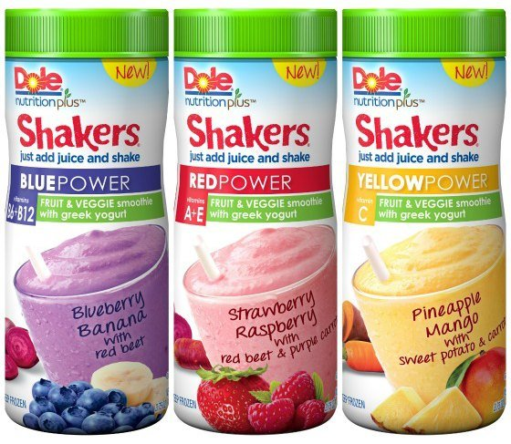 Dole Nutrition Plus Power Shakers