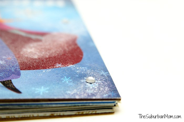 Frozen Book Craft