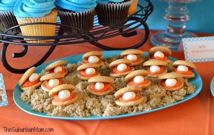 Ocotnauts Giant Clam Cookies Ocean Food