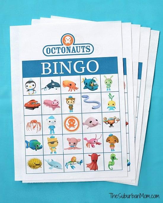 Octonauts Bingo Free Printable