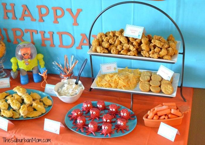 Octonauts Birthday Party Decorations Ideas DIY Party Favors