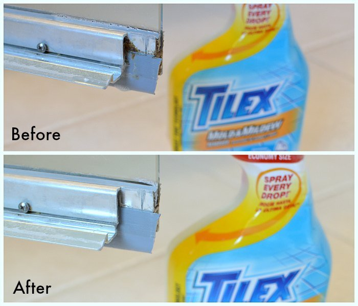 Tilex Mold Mildew Before After