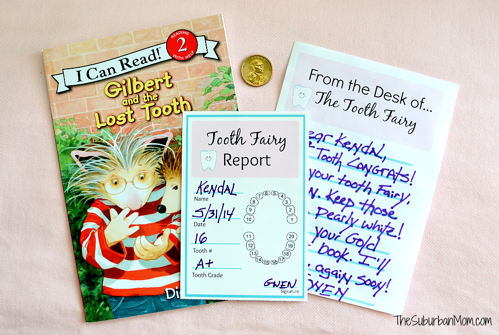 Tooth Fairy Ideas Free Printables