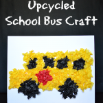 Easy Back To School Bus Kids Craft
