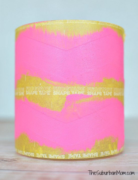 Frog Tape Pink Chevron