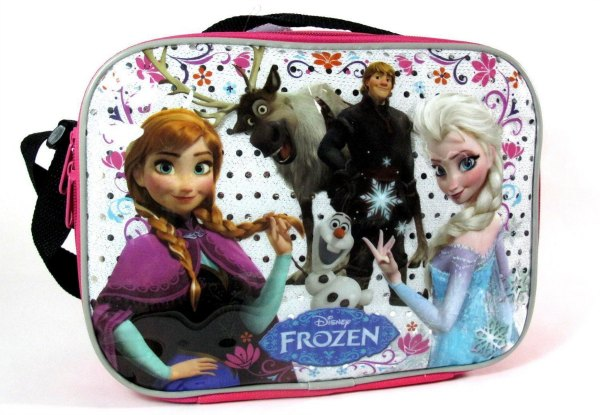 Frozen Lunch Box Anna Elsa