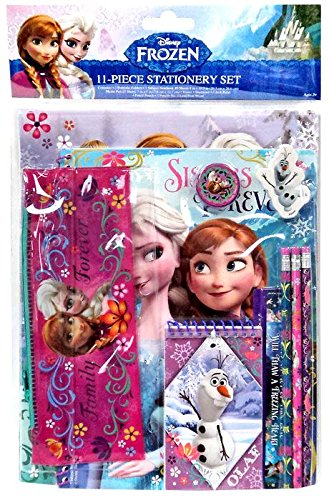 Frozen Stationary Set Pencil Notepad