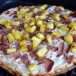 DIY Grilled Hawaiian Pizza