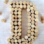 Monogram Wine Cork Craft