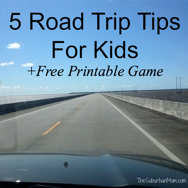 Road Trip With Kids Games Ideas