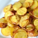 Easy Roasted Potato Crisps ~ $100 Visa Giveaway