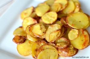 Roasted Potato Crisps