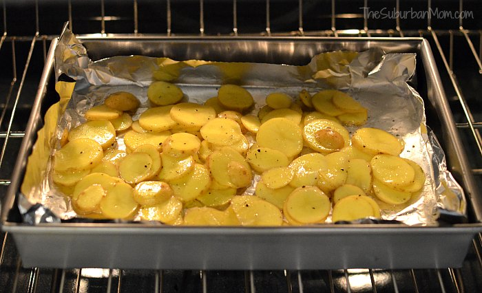 Roasted Potato Crisps Recipe