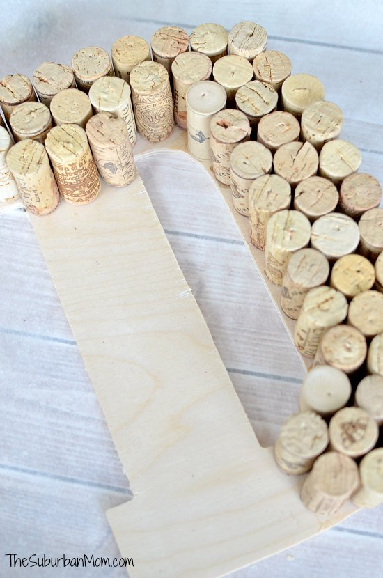 Wine Cork DIY Monogram