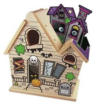 Lowe 39 s build grow haunted house kids clinic thesuburbanmom for Build a haunted house