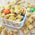 DIY Chex Mix: Honey Peanut School Fuel