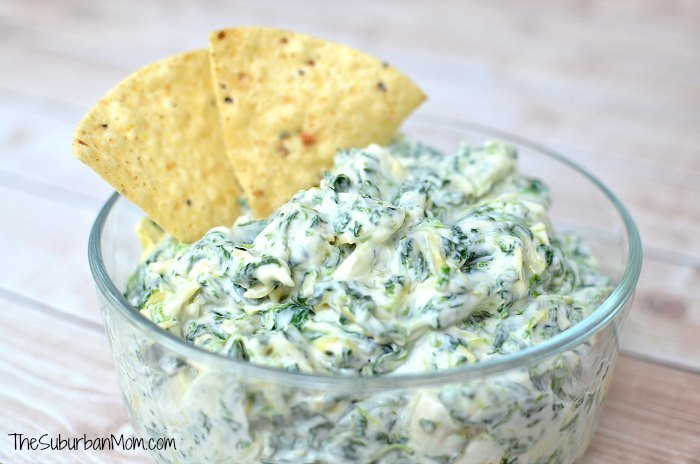 MIRACLE WHIP Creamy Spinach And Artichoke Dip
