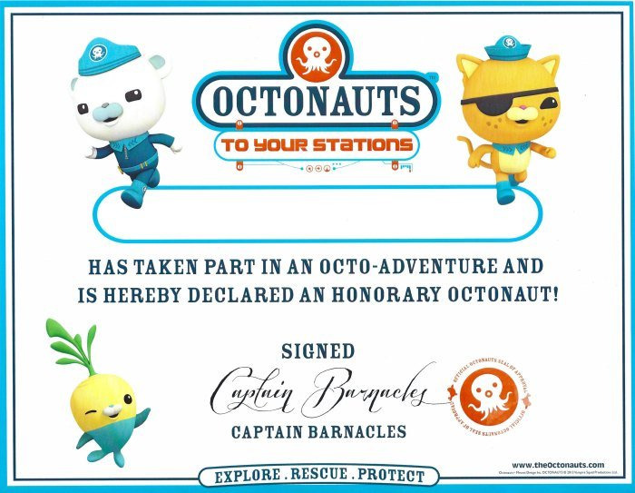 octonauts birthday party goodie bag ideas free printables