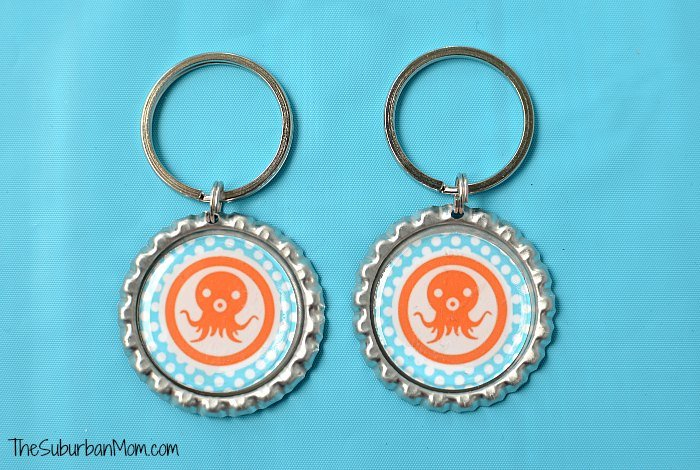 Octonauts Octoalert Key Chain