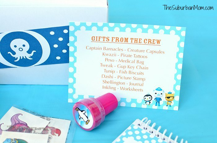 Octonauts Party Free Printable