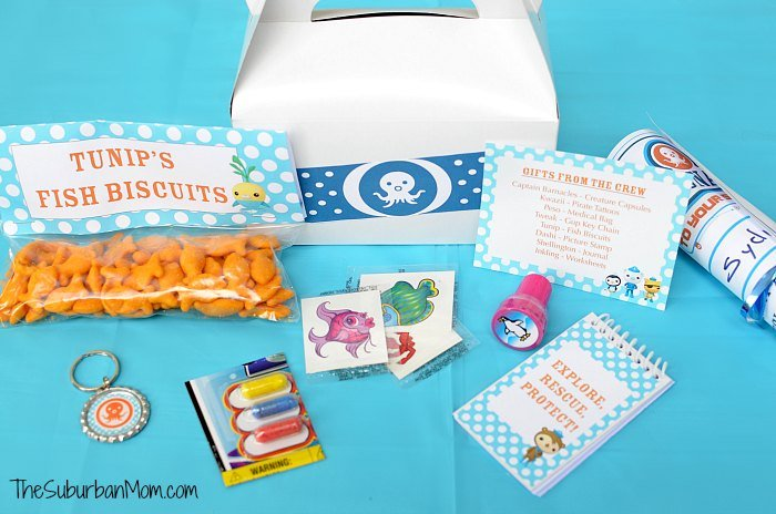 Octonauts Birthday Party Goodie Bag Ideas & Free Printables - TheSuburbanMom