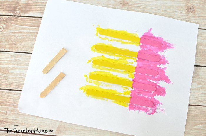 Popsicle Stick Kids Craft Pencil