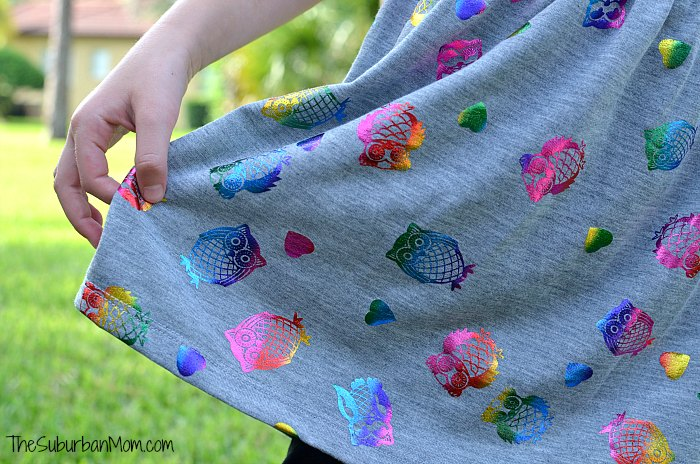 Kohls Rainbow Owl Dress