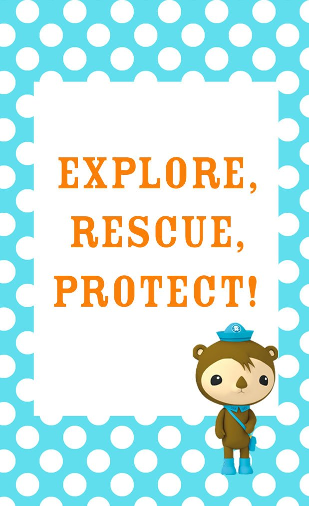 photo relating to Octonauts Printable named Octonauts Birthday Social gathering Goodie Bag Designs Cost-free Printables