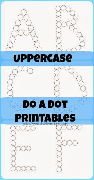 ABC Letters Do A Dot Printables