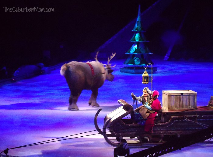 Disney on Ice Frozen Kristoff Anna Sven