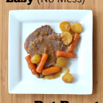 Easy (No Mess) Pot Roast