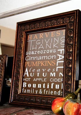 Free Printable Fall Sign