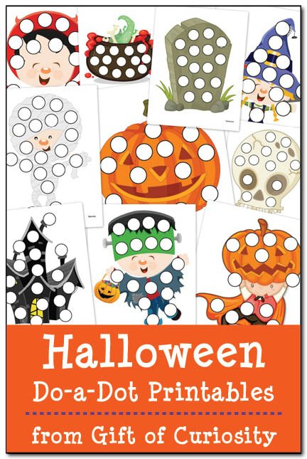 Halloween Do-A-Dot Printables